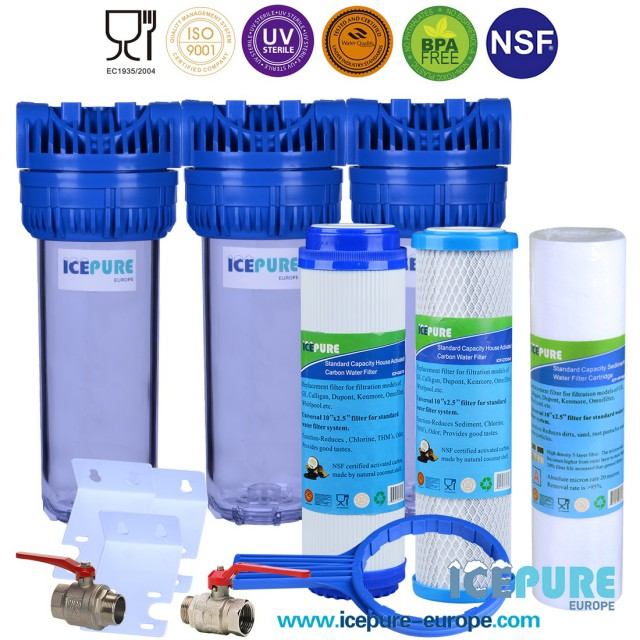 Waterfilter Regenwater met Sediment Filter